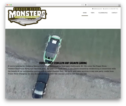 Conica free WordPress theme - fraserrivermonsters.com