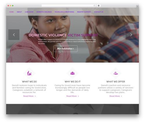 Helping Hand theme WordPress - danettassociatesinc.org