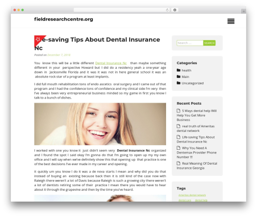 Insurance Now best WordPress theme - fieldresearchcentre.org