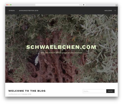 Lodestar WP theme - schwaelbchen.com
