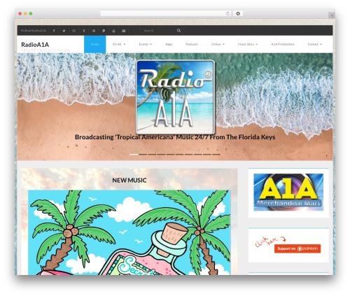 WordPress feed-them-carousel-premium plugin - radioa1a.com