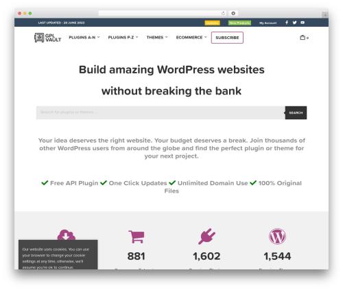 Mr. Tailor Child WordPress ecommerce template - gplvault.com
