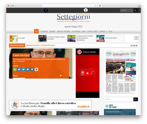 NewsPress Extend WordPress news template - settegiorni.net