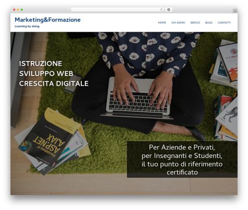 Sydney best free WordPress theme - marketingeformazione.com