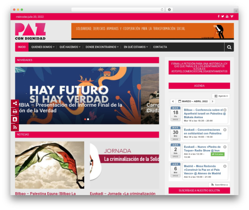 Top News WordPress news theme - pazcondignidad.org