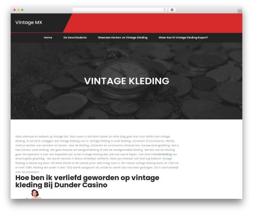 WordPress template Fino - vintagemx.nl