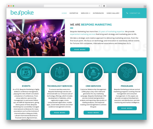 WordPress theme Ninja - bespoke-marketing.net
