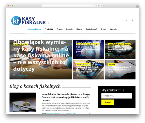 WordPress website template King News - kasyfiskalne.pl