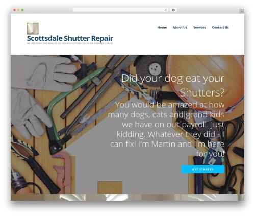 Ascension top WordPress theme - scottsdaleshutterrepair.com