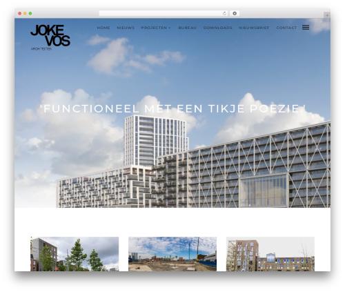 Mies WordPress theme - jokevos.nl