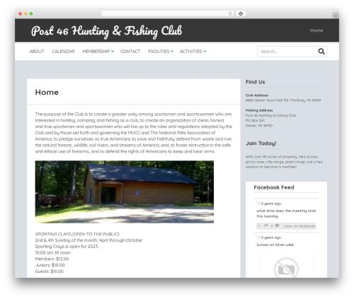 MyStem WordPress theme design - post46hfc.com