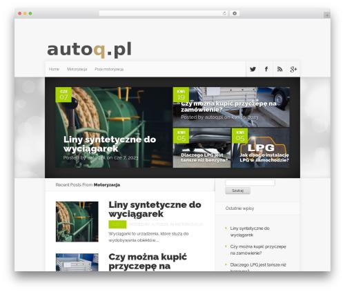 Nexus template WordPress - autoq.pl