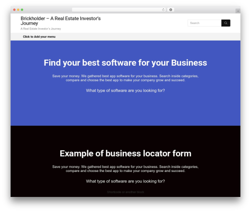 Rehub theme WordPress real estate - brickholder.com