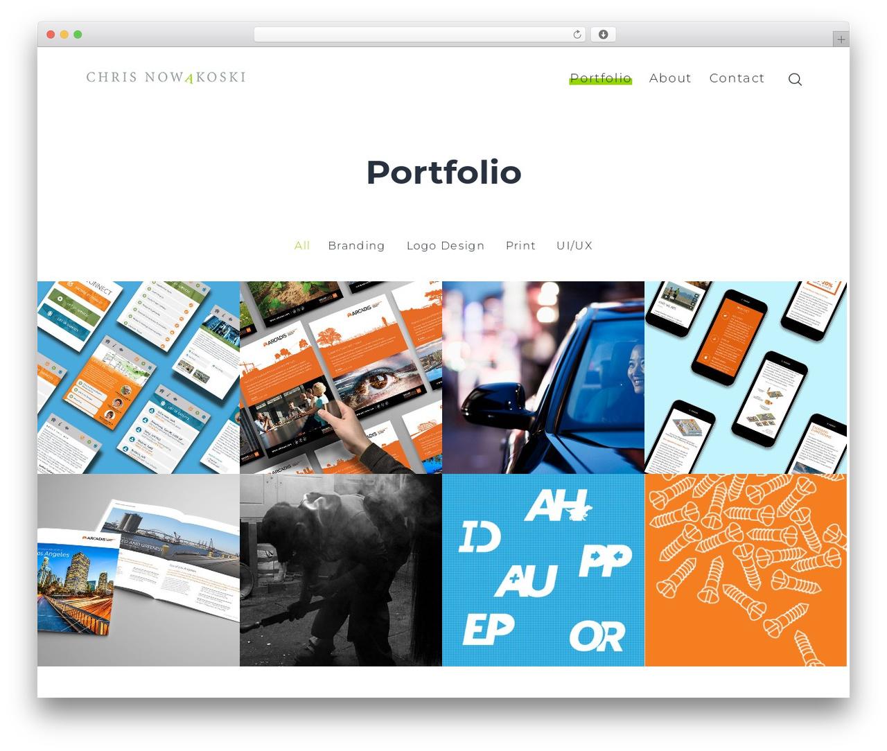 SohoPRO theme WordPress - nowakoski.com