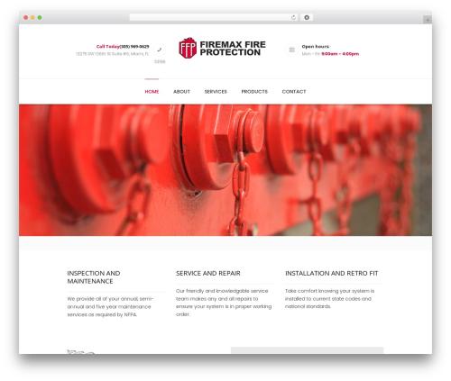 Theme WordPress Dentario - firemaxfirepro.com