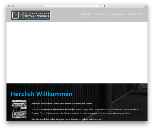 Theme WordPress Inspiro - gruber-hofer.at