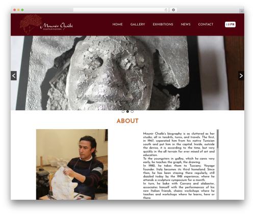 Twenty Sixteen best free WordPress theme - mounir-chaibi.com