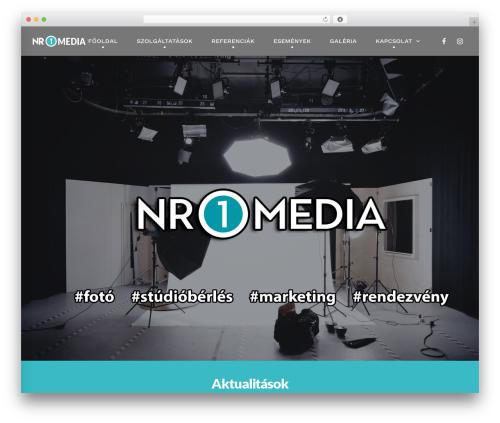 WordPress template TM Moody - nr1media.net