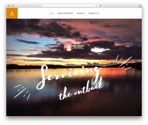 WordPress theme Bonfire - ordriverbp.com.au