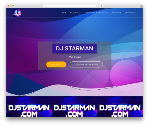 WP template Materialis - djstarman.com