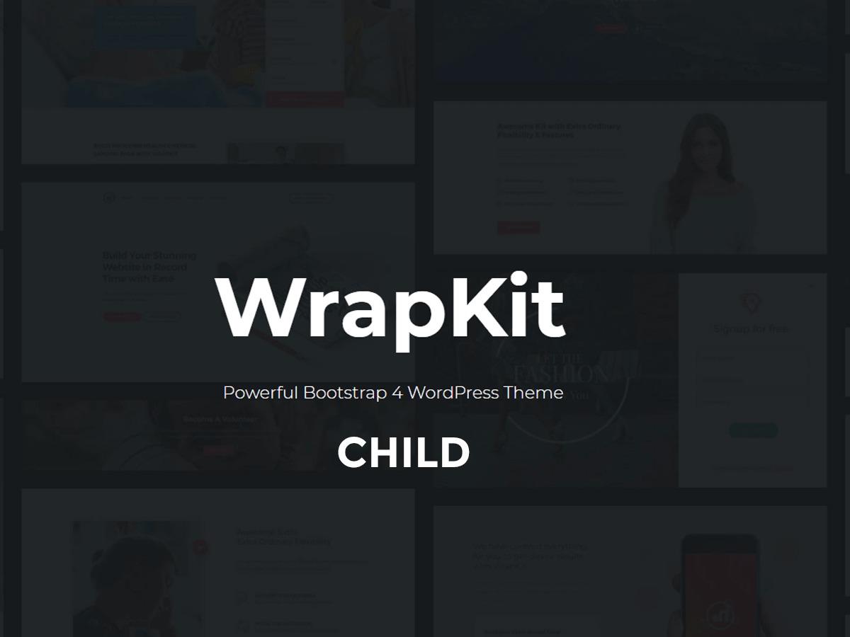 WrapKit Child template WordPress