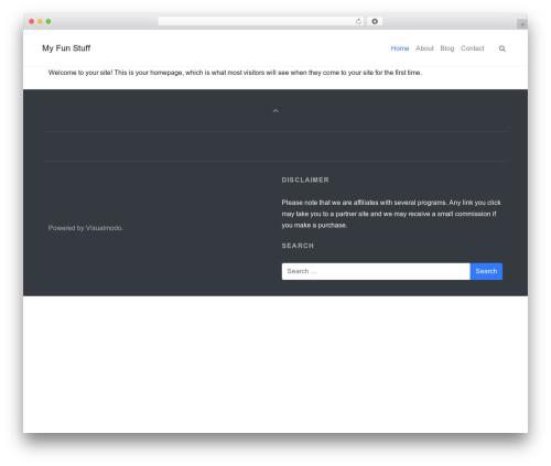 Architect WordPress template - krazyncute.com