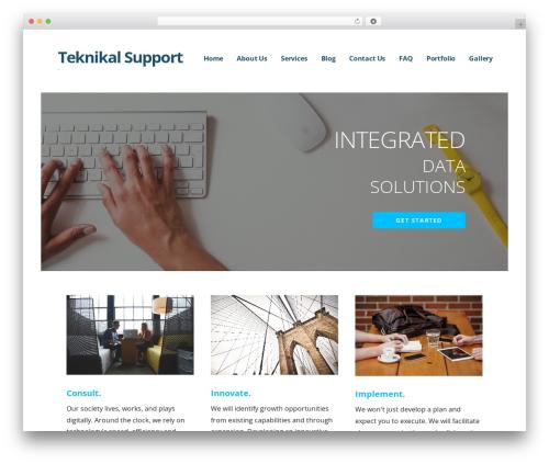 Ascension WordPress page template - teknikalsupport.com