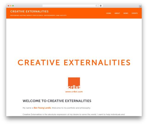 Baton Pro WordPress theme design - cr8xt.com