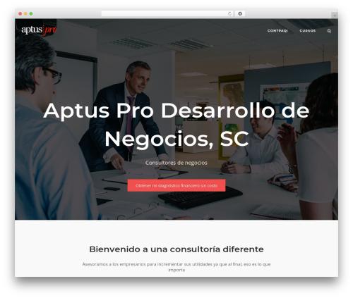 Best WordPress template SiteOrigin Corp - aptuspro.com