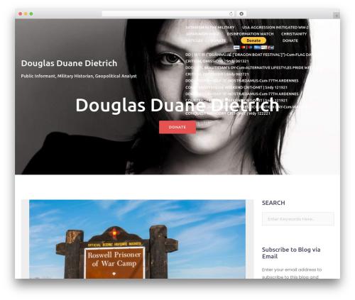 Best WordPress theme Bizworx - douglasdietrich.com