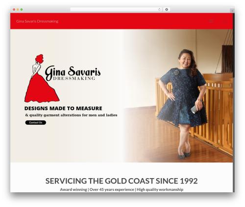 Betheme WordPress template - ginasavaris.com.au