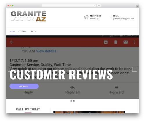 Business Insights theme WordPress - granitedoctoraz.com