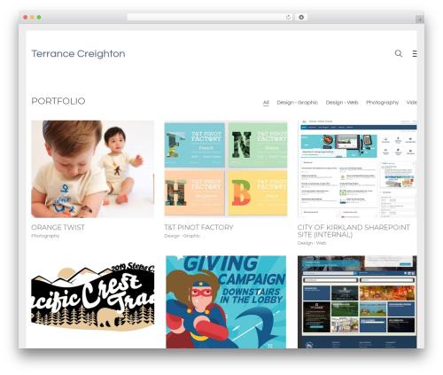 WordPress boldgrid-inspirations plugin - creightondesign.com