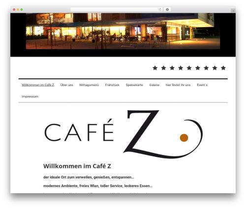 Mercia free WP theme - cafez.at