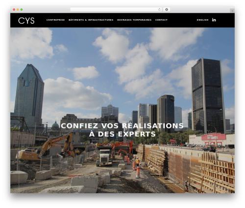 monolit WordPress theme design - cys-ing.com