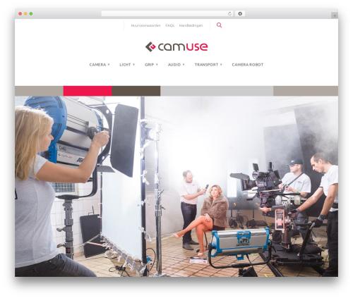 Monstroid2 theme WordPress - camuse.nl