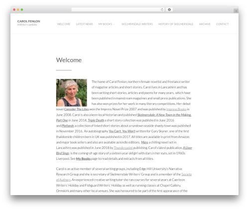 Photolog WordPress page template - carolfenlon.com