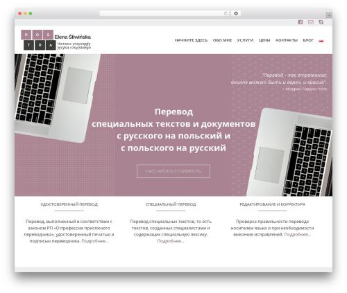 Pinnacle free WordPress theme - rostra.pl