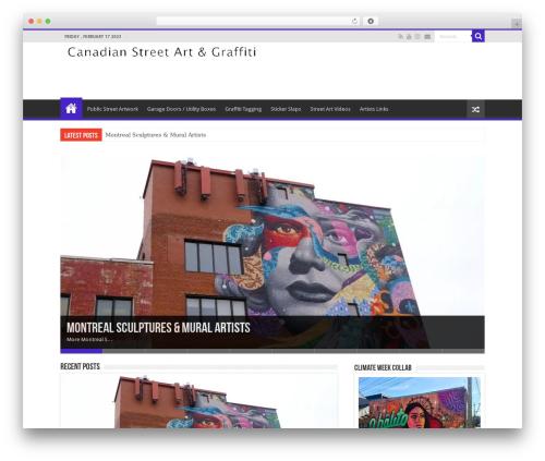 Sahifa WordPress theme - bretkelly.com