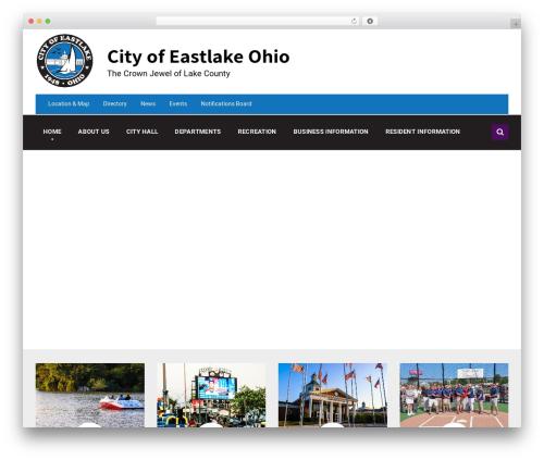 Template WordPress Pressville - eastlakeohio.com