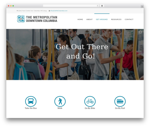 The Simple WordPress theme - gometcolumbia.com