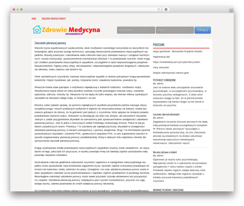 Free WordPress WP SEO HTML Sitemap plugin - zdrowygabinet.pl