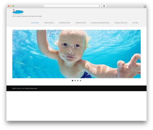 Unifield template WordPress free - akkorhavuz.com