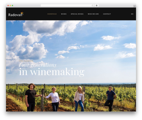 Villenoir best WordPress template - vinaradovan.com