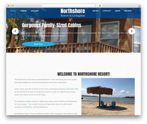 Waves WordPress theme - northshorerv.com