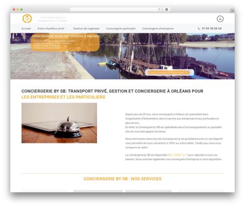 WordPress theme AutoStars - conciergerie-by-sb.com
