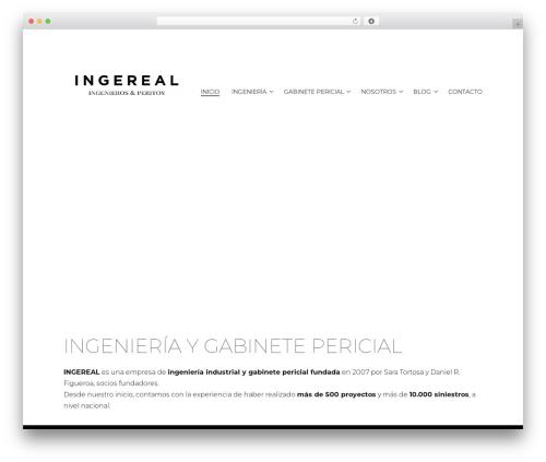 WordPress theme Libre 2 - ingereal.com