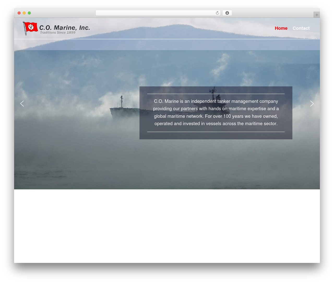 WordPress theme Neve - specialtyship.com