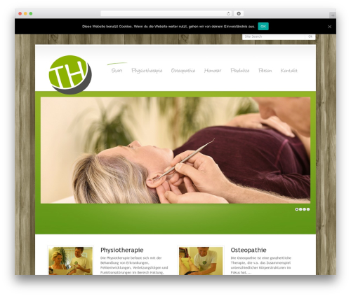 WordPress Theme Number WordPress website template - thomashustert.de