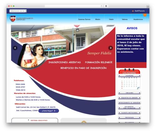WordPress theme Peachclub - iaejardindeninos.edu.mx